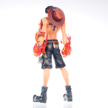 26 cm boyutu Anime One Piece yangın Fist Ace-Portgas D Ace kutulu PVC Action Figure koleksiyon Model oyuncak