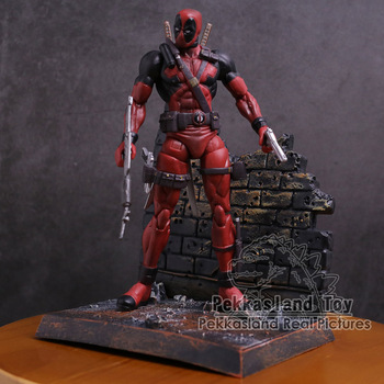 "Deadpool ile silahlar PVC Action Figure Koleksiyon Model Oyuncak 7 ""18 cm"